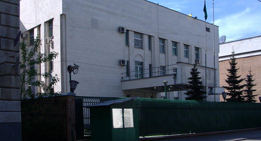 السفارة السعودية في موسكو