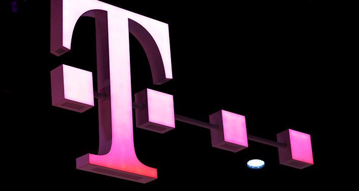 شعار شركة الاتصالات الألمانية دويتشه تيليكوم