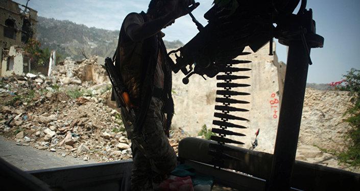 الجيش اليمني في تعز، اليمن 14 أغسطس/ آب 2018