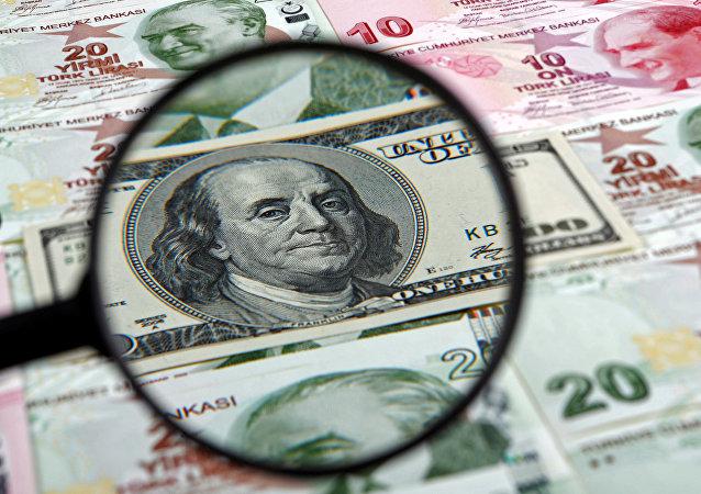 الليرة التركية و الدولار