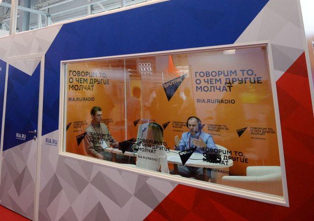 افتتاح منتدى آرميا 2018 (الجيش 2018 العسكري الدولي الرابع في كوبينكا بضواحي موسكو - وكالة روسيا سيغودنيا و سبوتنيك حاضرة في المنتدى
