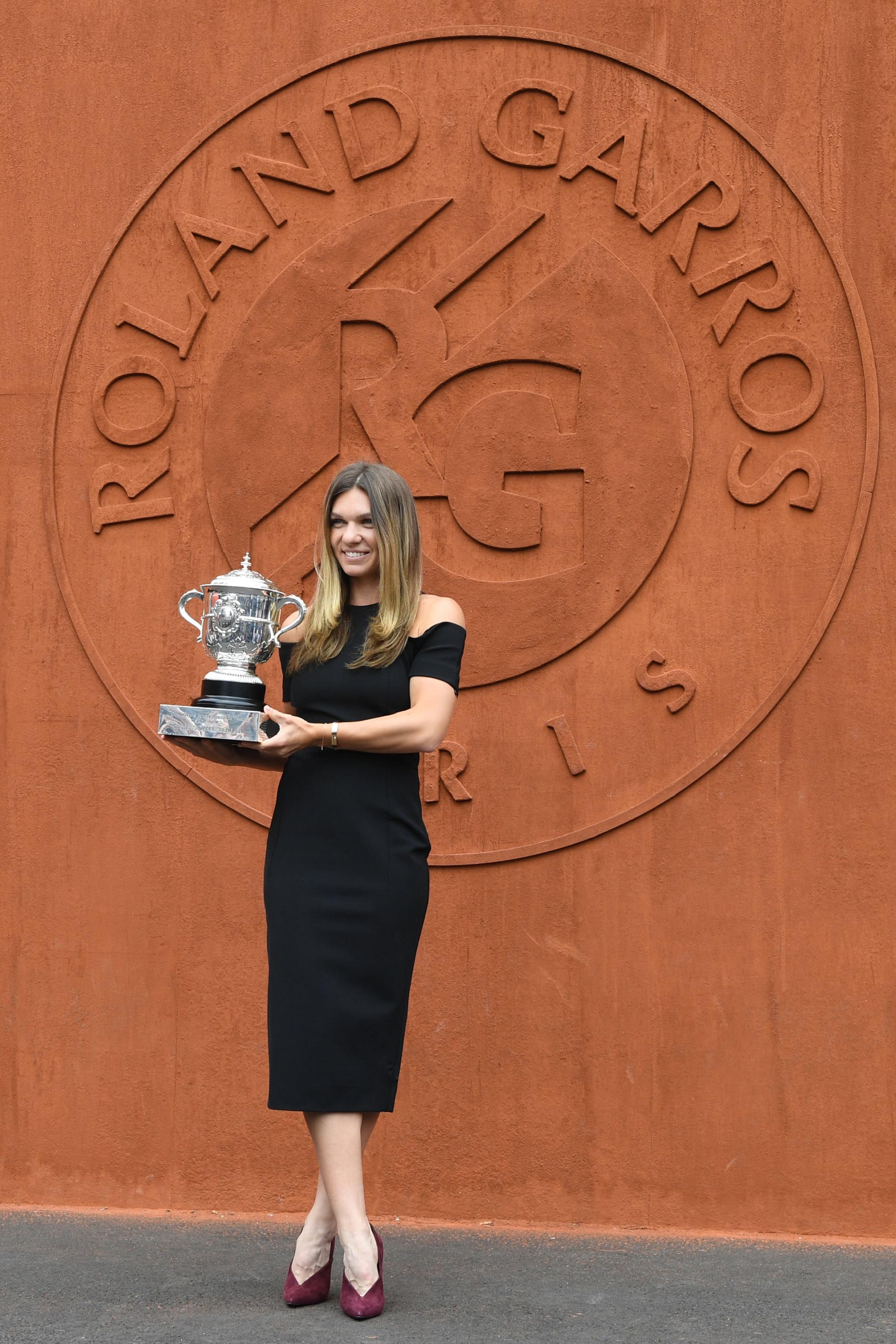 لاعبة التنس الرومانية سيمونا هاليب