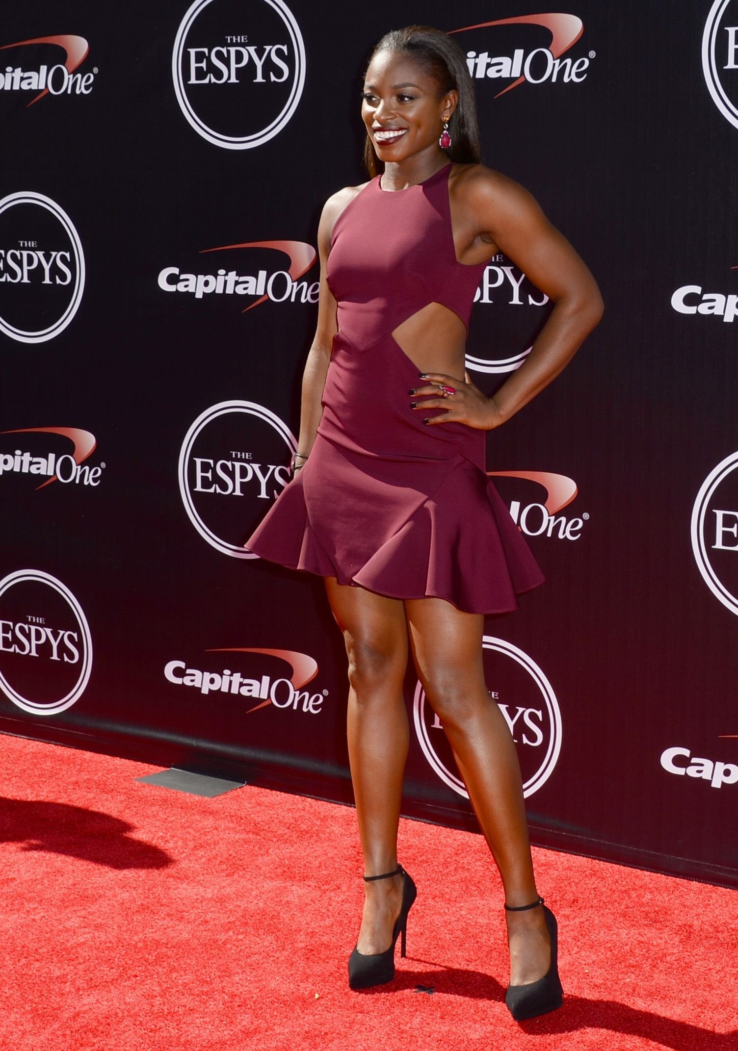 لاعبة التنس الأمريكية سلون ستيفنز