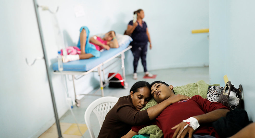 نساء فنزويلات حاملات ينجبن في البرازيل