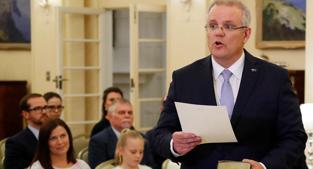 رئيس وزراء أستراليا سكوت موريسون