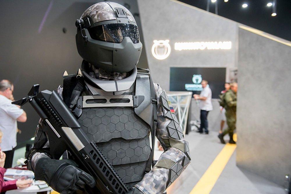 بدلة عسكرية روسية