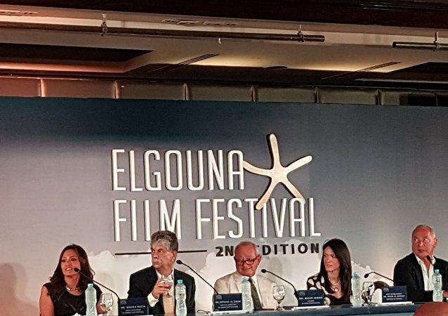 المؤتمر الصحفي لمهرجان الجونة السينمائي