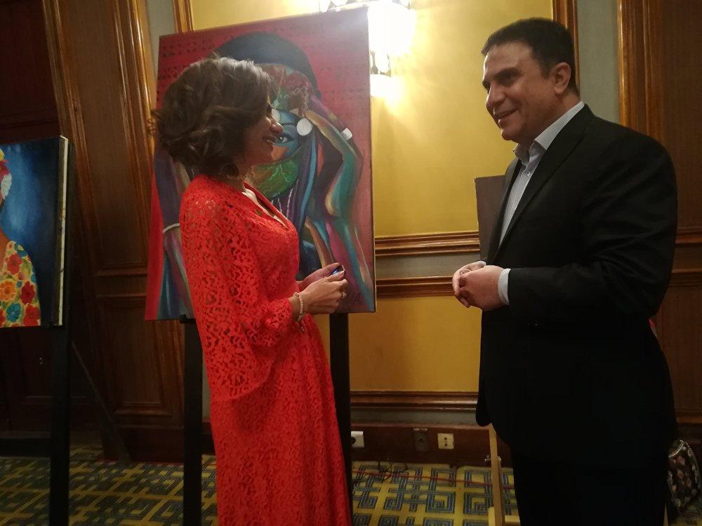 الفنانة السعودية علياء الدقس في حوار مع سبوتنيك