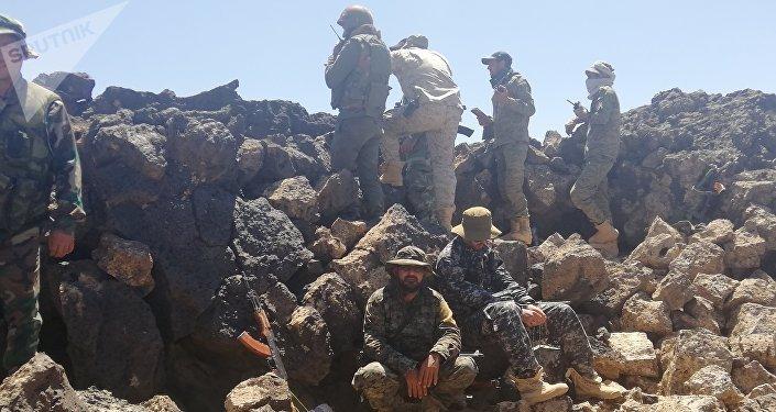 الجيش السوري في بادية السويداء