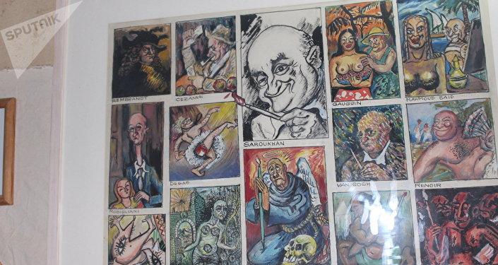متحف الكاريكاتير 8