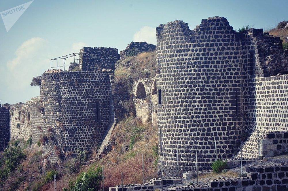 قلعة المرقب في بانياس السورية