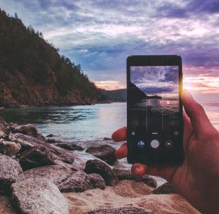 التقاط صورة لبحيرة بايكال