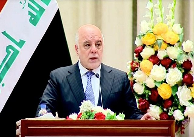 رئيس الوزراء العراقي حيدر العبادي