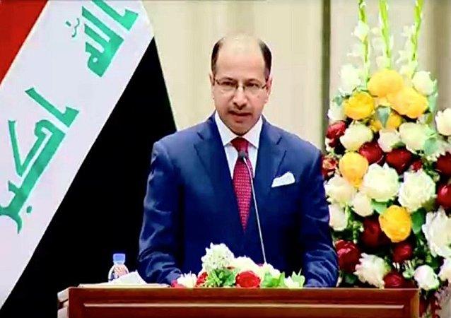 رئيس مجلس النواب العراقي سليم الجبوري