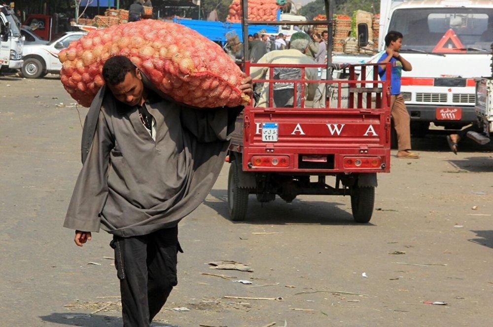 سوق الفاكهة في مصر