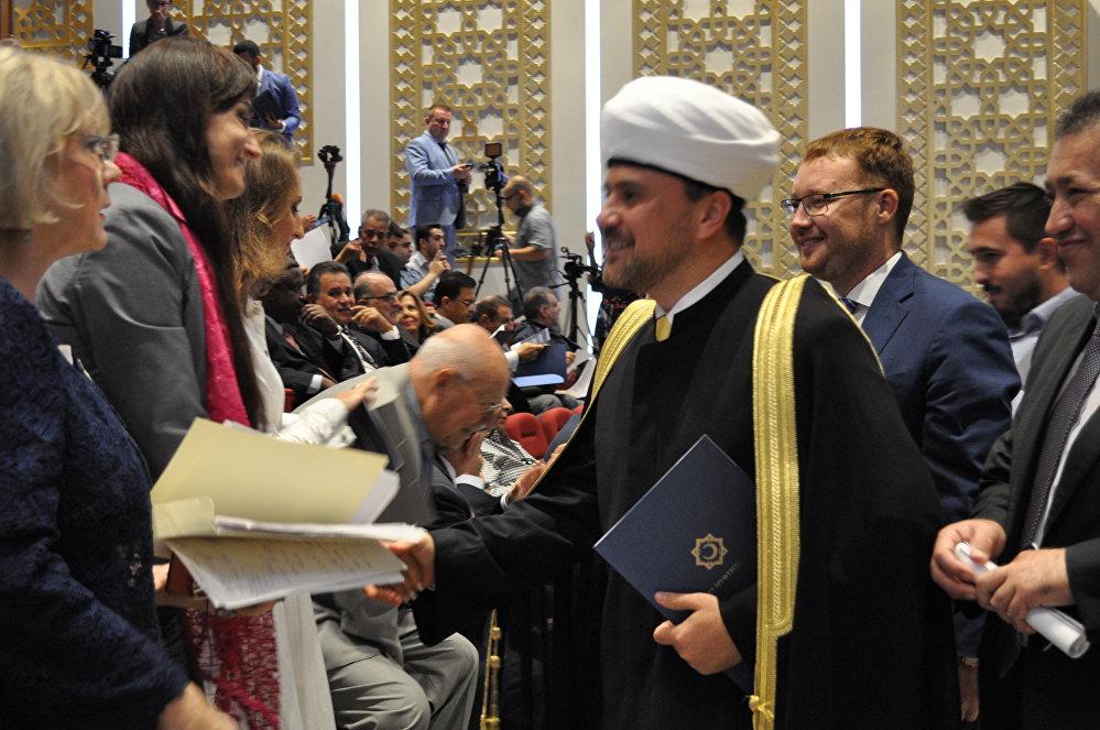 المنتدى الدولي السادس الحوار المجتمعي : روسيا والعالم العربي