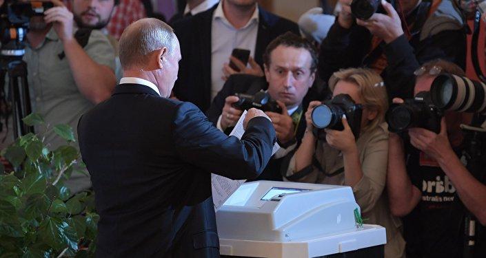 بوتين يشارك في انتخابات عمدة موسكو