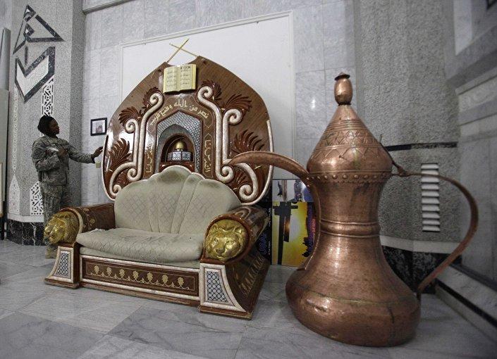 قصر الفاو لصدام حسين من الداخل