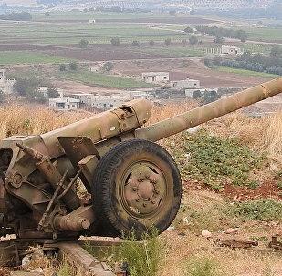 جندي من الجيش السوري على مشارف إدلب