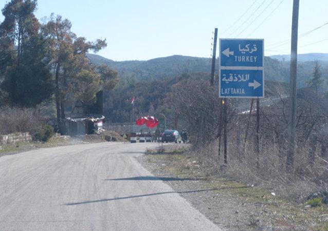 باخرة تركية تقل مهجرين سوريين (تغازل) الموانئ السورية