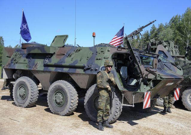 قوات أمريكية في استونيا