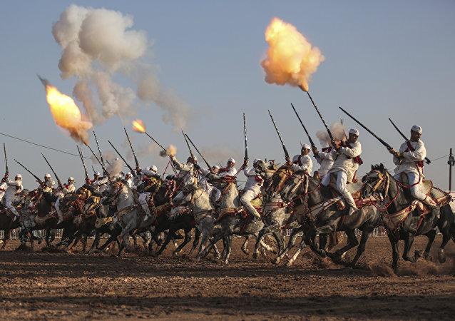 مهرجان شعبي في المغرب