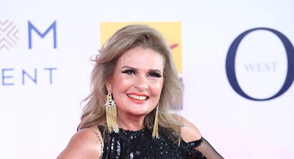 الممثلة المصرية يسرا في افتتاح مهرجان الجونة السينمائي الثاني، 20 سبتمبر/أيلول 2018