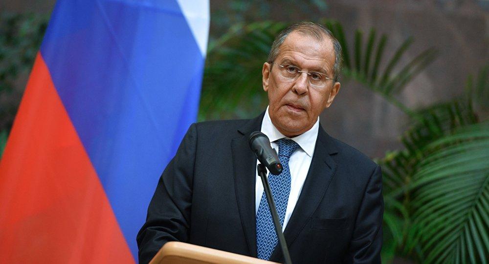 سيرغي لافروف، وزير الخارجية الروسي