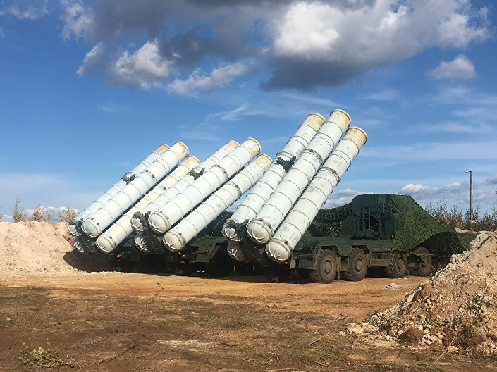 مناورات الشرق-2018 - إس-400