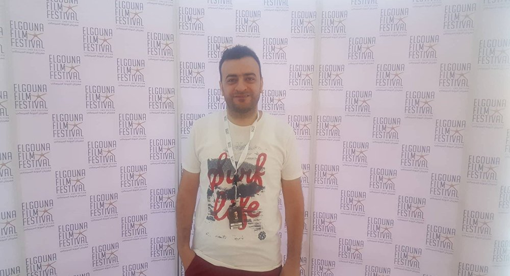 الكاتب السوري علي وجيه مهرجان الجونة