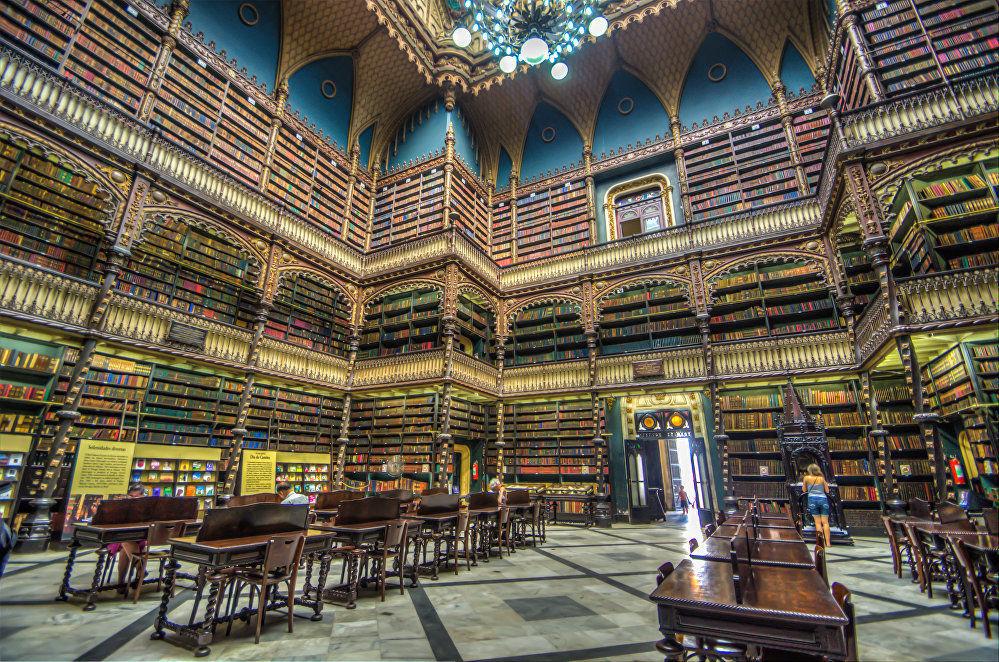 المكتبة الملكية البرتغالية في ريو دي جانيرو