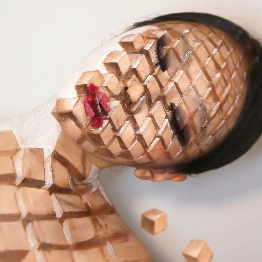 بودي آرت (الرسم على الجسد) من الفنانة الكورية الجنوبية داين يون