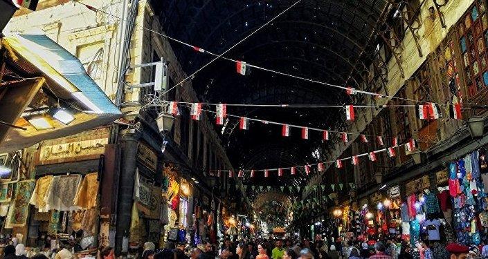 السوق في دمشق