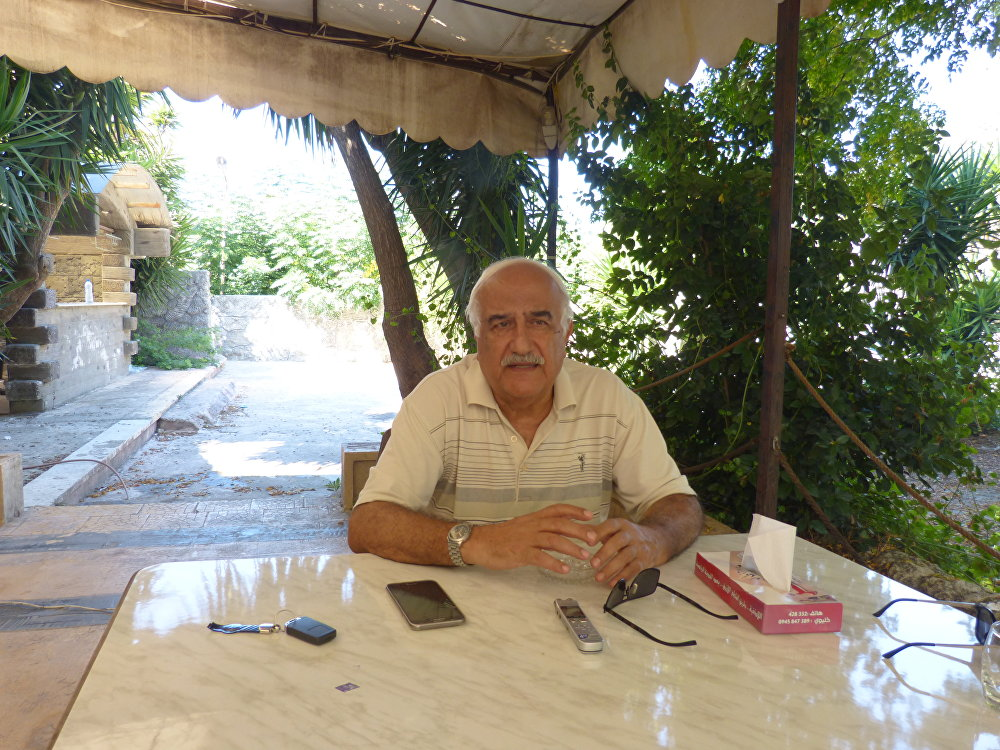 الخبير العسكري واللواء الجوي السابق في الجيش السوري رضا شريقي