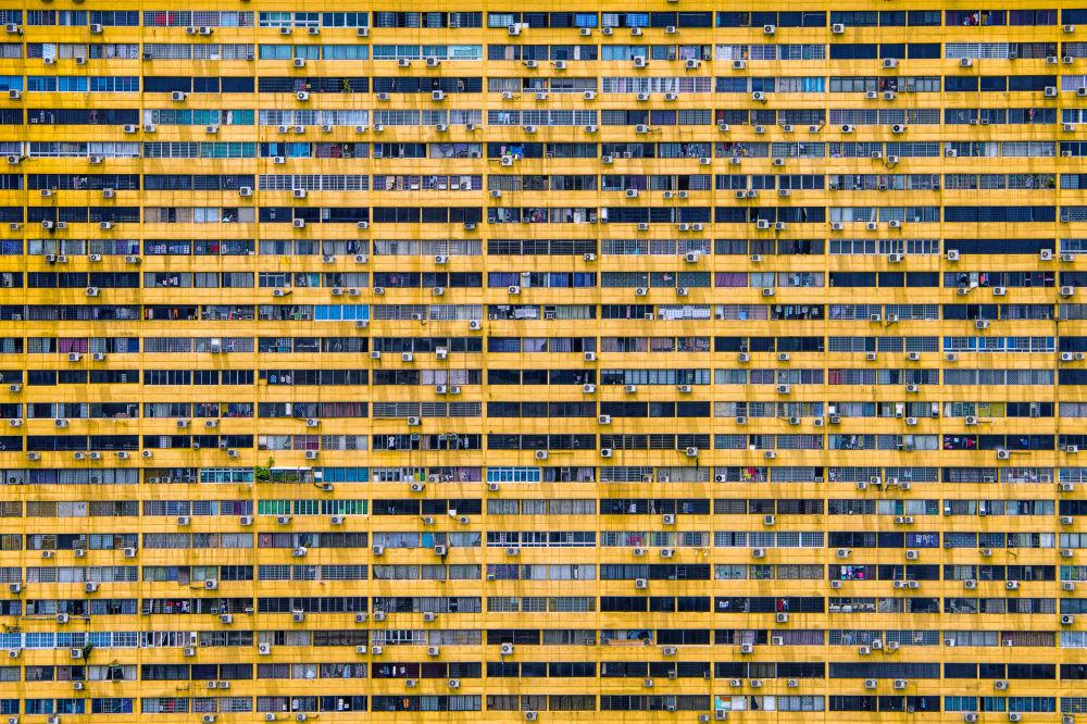 صورة بعنوان الحياة الحضرية في سنغافورة للمصور السنغافوري ثاي وانا، الفائز بجائزة بين المرشحين في فئة يوصى بشدة