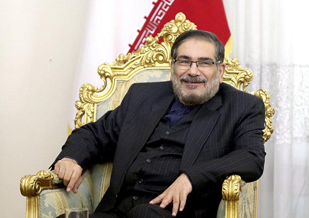 الأمين العام للمجلس الأعلى للأمن القومي الإيراني علي شمخاني