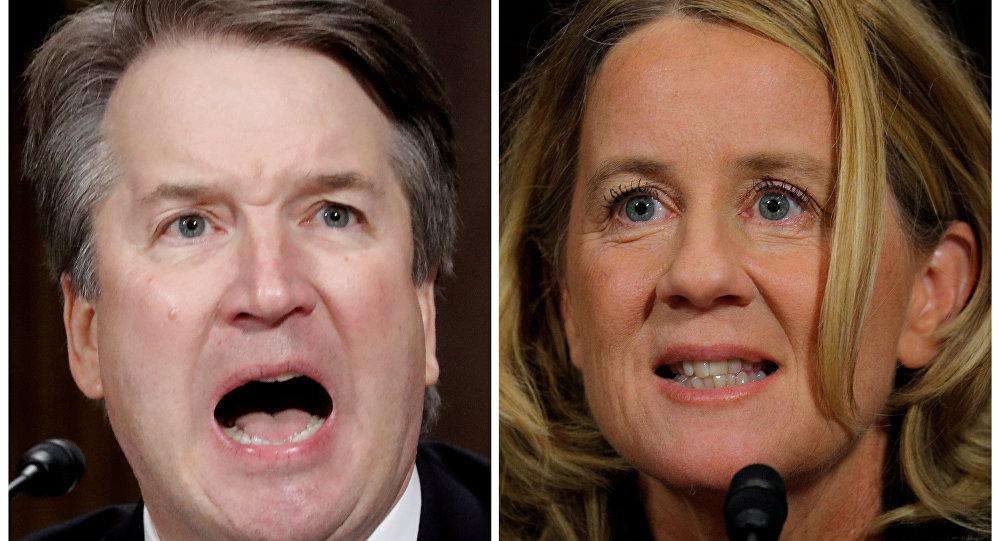 كريستين بلازي فورد ومرشح ترامب للمحكمة العليا بريت كافانو