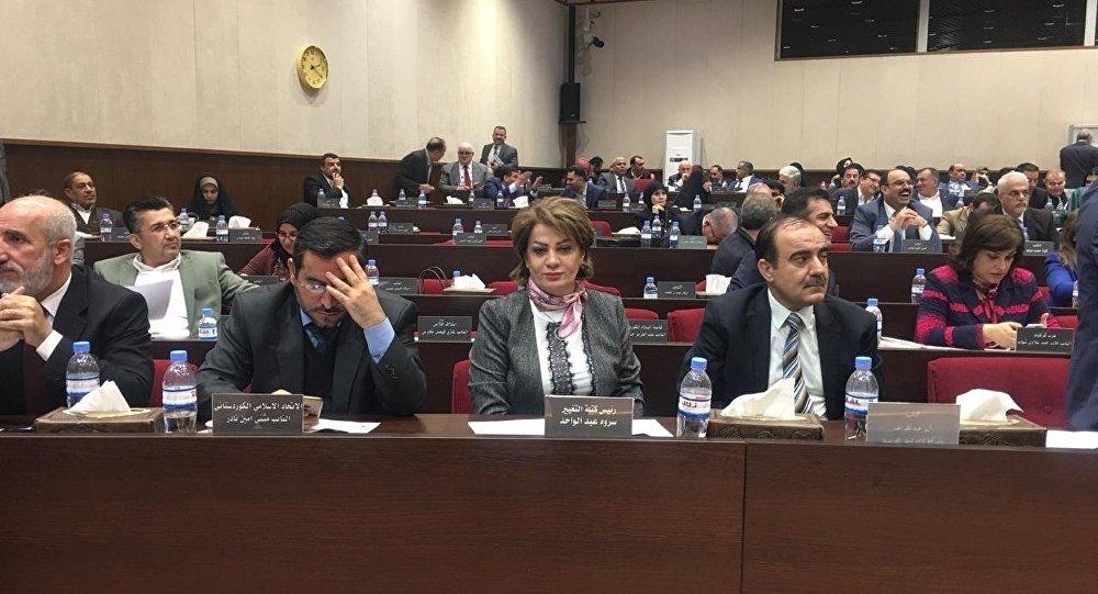 سروة عبد الباقي مرشحة الرئاسة العراقية