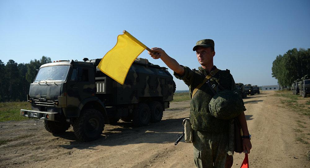 تدريب قوات الحرب الإلكترونية في روسيا