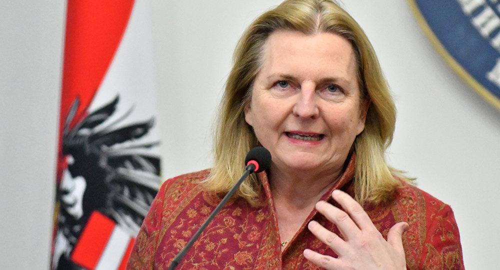 وزيرة خارجية النمسا، كارين كنايسل