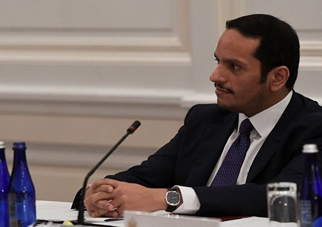 نائب رئيس الوزراء وزير الخارجية القطري، محمد بن عبد الرحمن آل الشيخ