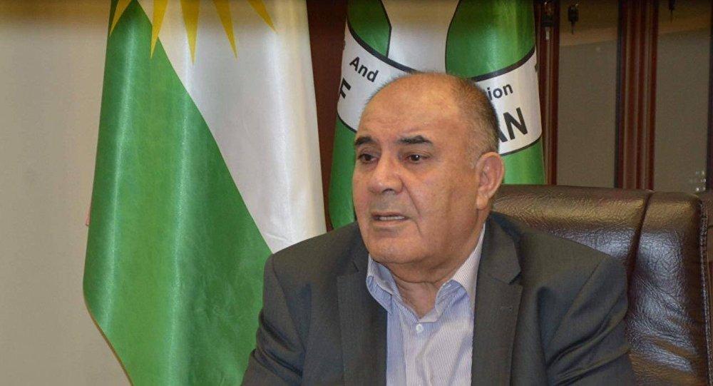 القيادي والمتحدث الرسمي باسم الاتحاد الوطني الكردستاني سعدي بيرة