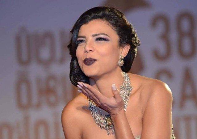 الممثلة المصرية ناهد السباعي