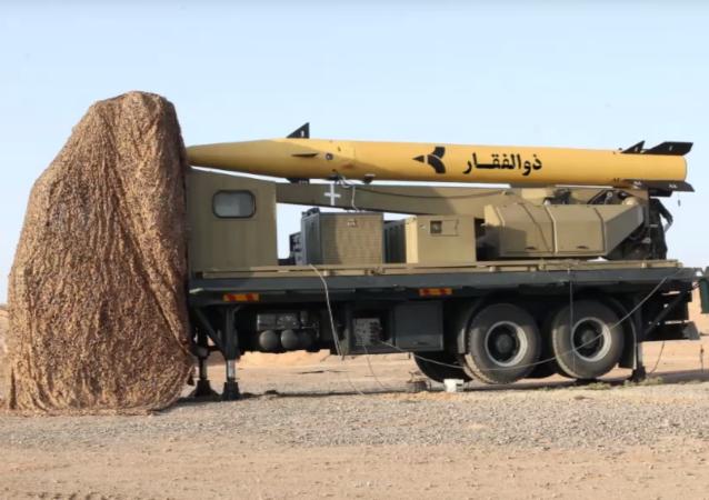 صاروخ إيراني من نوع ذو الفقار