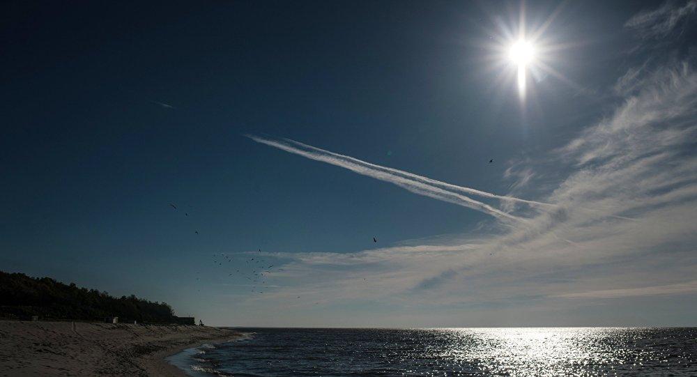 شاطئ بحر البلطيق