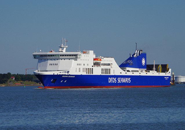 سفينة ريغينا سيوايز، بحر البلطيق