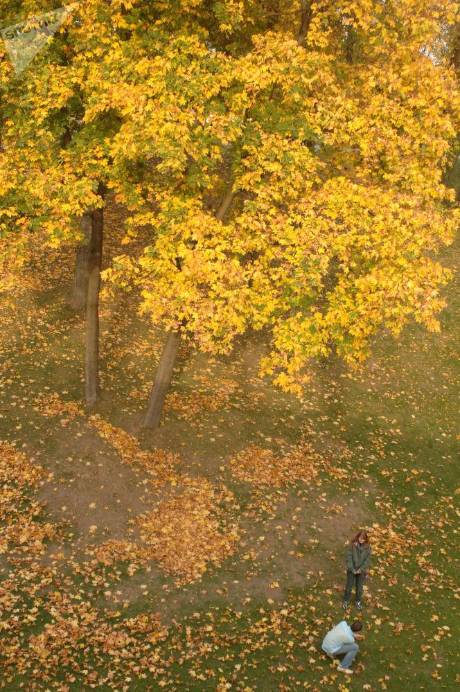 منتزه تساريتسينو في موسكو