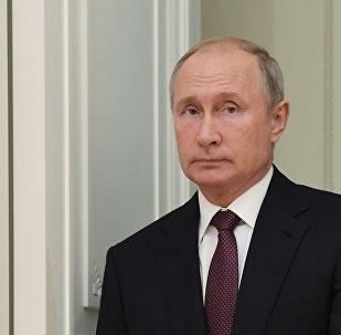 الرئيس فلاديمير بوتين، 2 أكتوبر/ تشرين الأول 2018