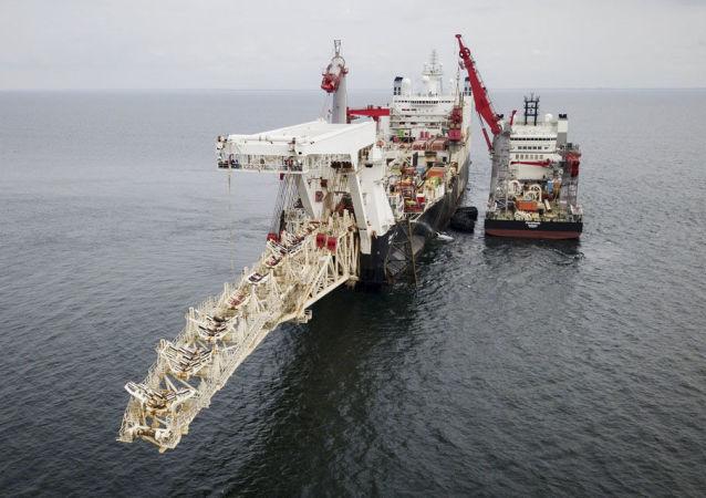 إنشاء خط أنابيب الغاز التيار الشمالي 2