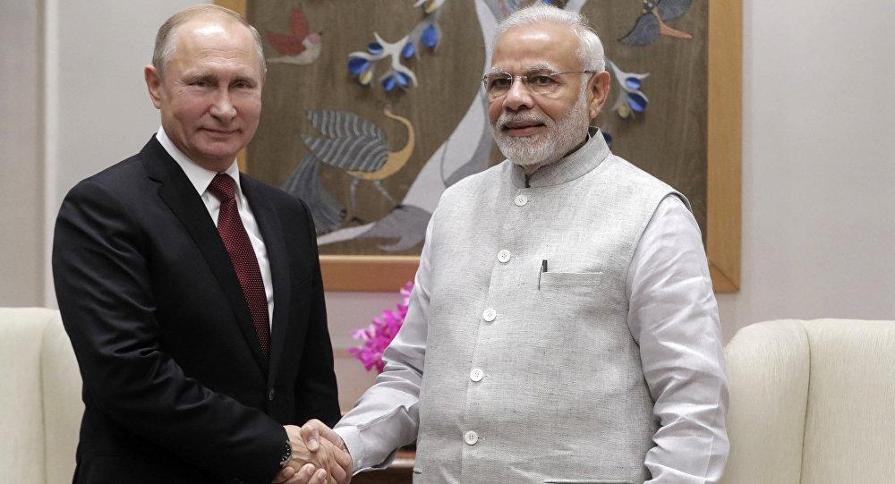 زيارة بوتين الرسمية إلى الهند ولقائه رئيس الوزراء ناريدا مودي